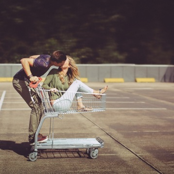 Shopping Cart Couple